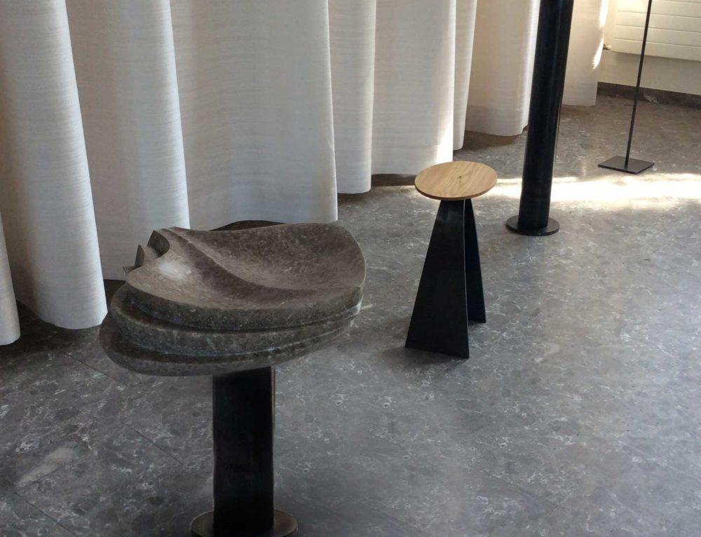 Schale in Kalkstein