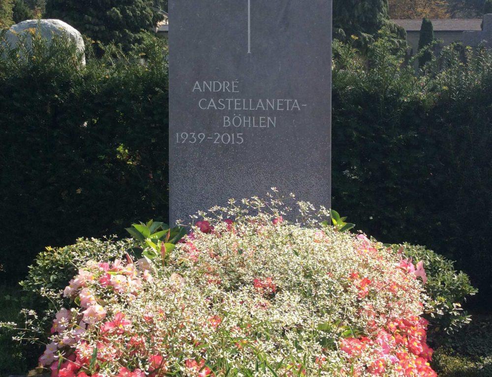 Kreuz in Kalkstein